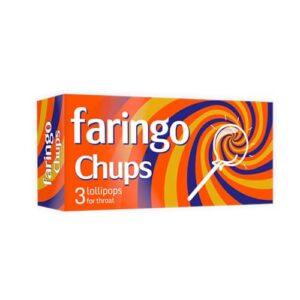 Faringo Chups, 3 pastilas