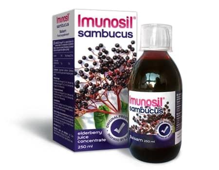 Imunosil Sambucus balzams, 250 ml