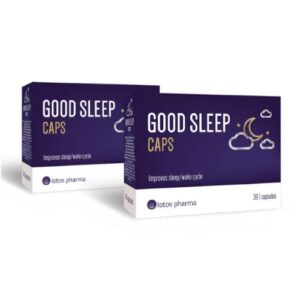 2x Good Sleep Caps, 30 kapsulas
