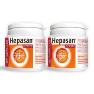 2x Hepasan Forte, 120 kapsulas