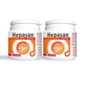 2x Hepasan Forte, 60 kapsulas – 2 mēnešu kurss