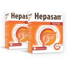 2x Hepasan Forte, 30 kapsulas – mēneša kurss