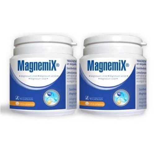 2x Magnemix, 90 kapsulas – 2 menešu kurss