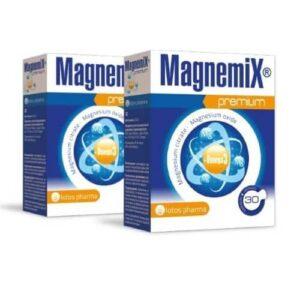 2x Magnemix Premium, 30 kapsulas – mēneša kurss