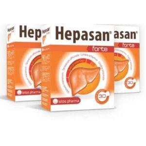 3x Hepasan Forte, 30 kapsulas