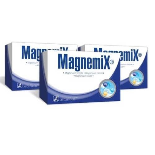 3x Magnemix, 30 kapsulas - mēneša kurss