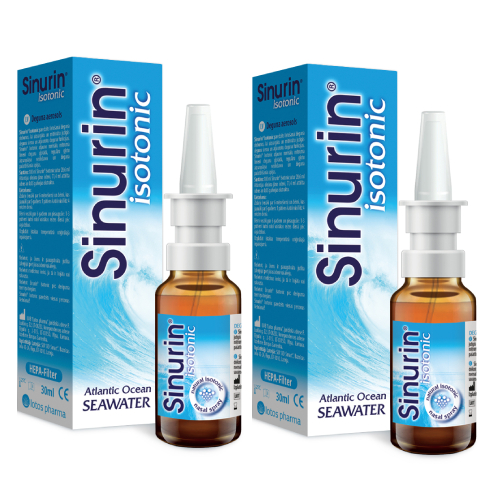 2x Sinurin Isotonic, 30 ml