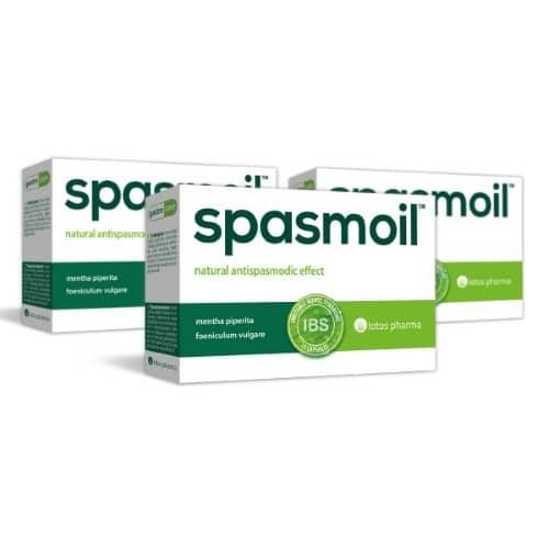 3x Spasmoil, 15 kapsulas