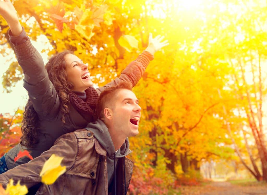 Kā justies laimīgiem arī rudenī