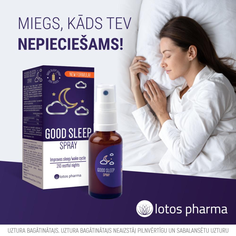 Miega kvalitātes uzlabošanai