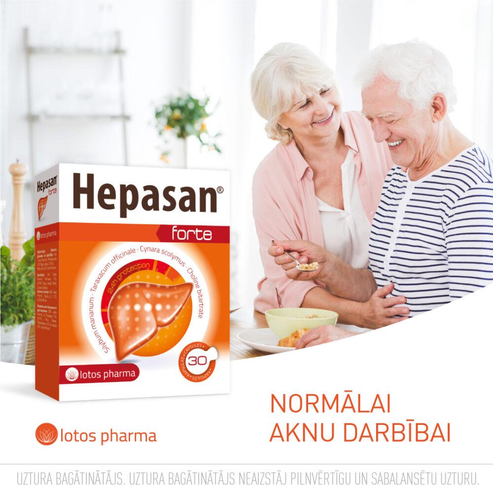 Hepasan Forte efektīvs produkts
