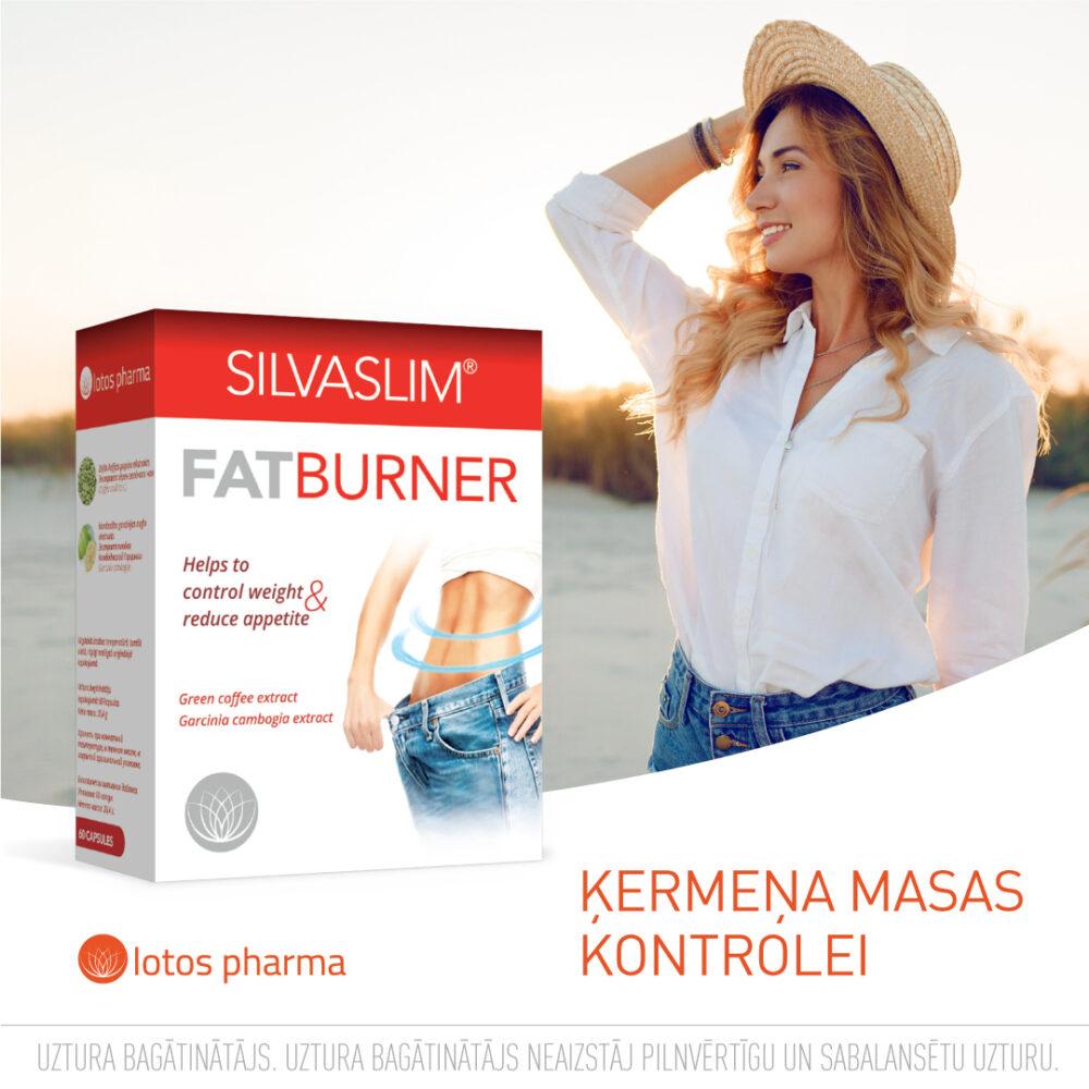 Silva Slim Fat Burner svara kontrolei