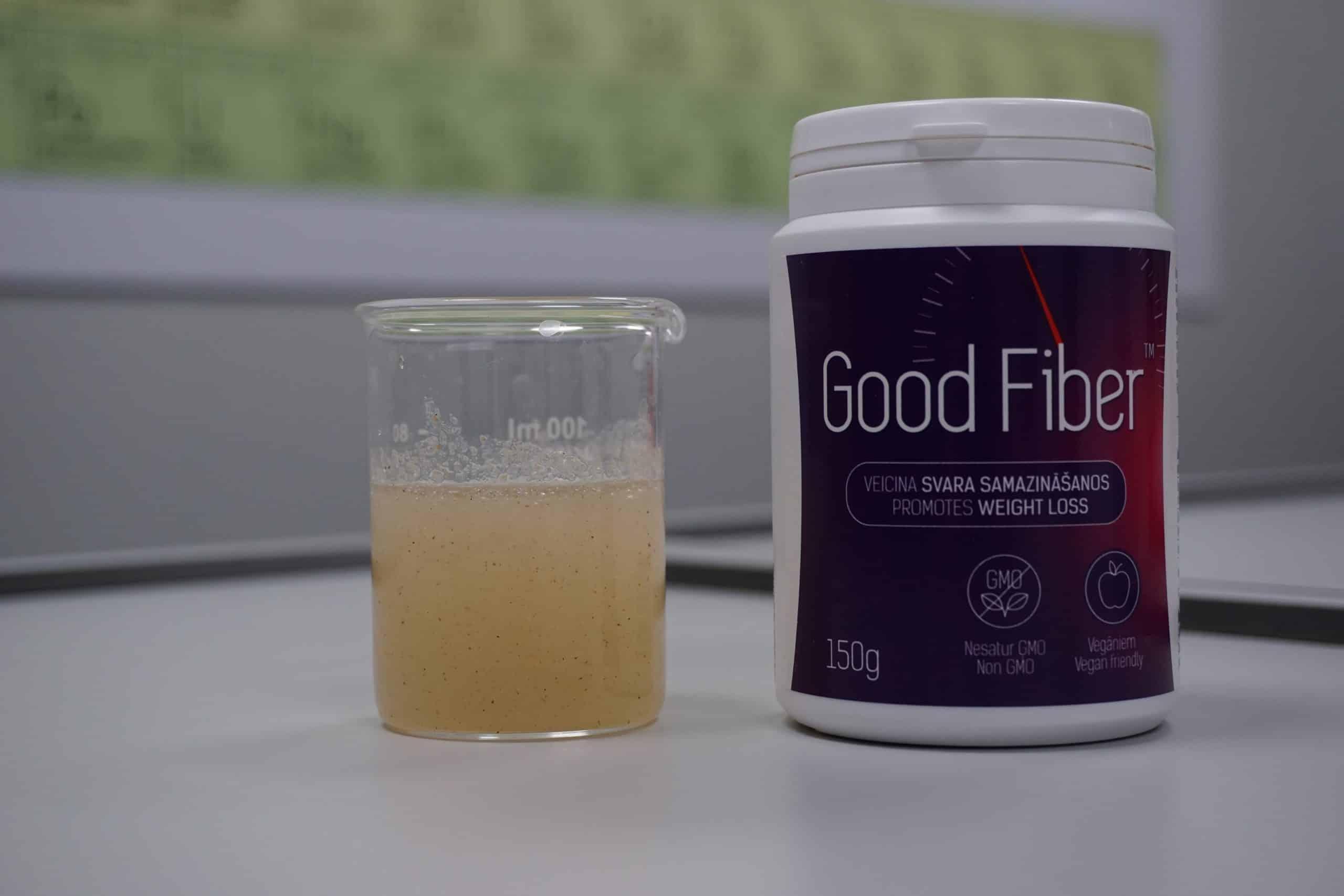 Diēta kopā ar Good Fiber